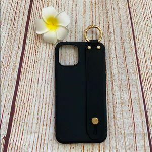 Wrist Strap Phone Holder Soft Case iPhone 11 Pro